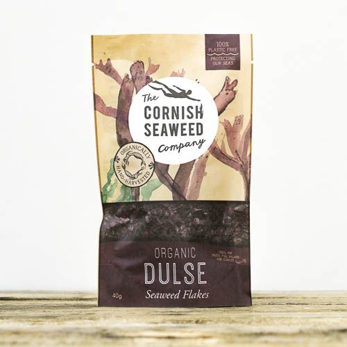 Organic Dulse Flakes - 40g - Seaweed Delivered - Online Seaweed - Hamiltons Fish