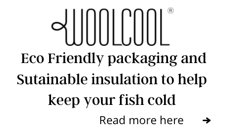 Woolcool packaging - Eco-friendly packaging - Hamiltons Fish